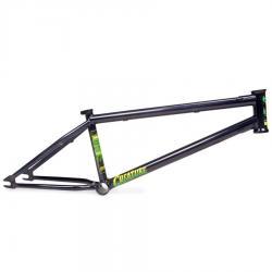 Fiction Creature 20.75 Black BMX Frame