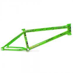 Fiction Creature 20.75 Toxic Splatter BMX Frame