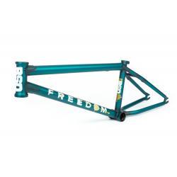 Рама BMX BSD FREEDOM 2020 20.8 Flat Trans Turquoise