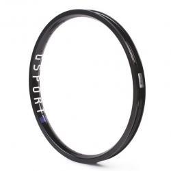 Обод BMX Gsport Birdcage Hard anodized Black