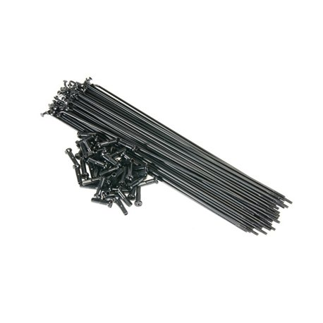 Spokes Primo 194 mm 50pcs. Black
