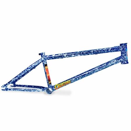 Fiction Creature 21 Angry Sea Blue BMX Frame