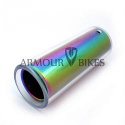 Пега Armour bikes Atomic из алюминия 7075-T6 Oil Slick с polycarbonate рукавом