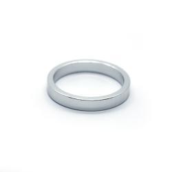 Проставочное кольцо для рулевой Armour Bikes 5 мм (1шт) серебро