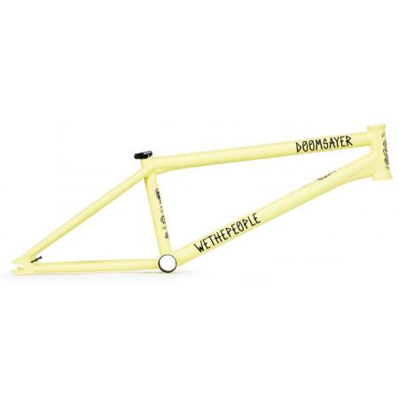 Рама BMX Wethepeople Doomsayer 2019 21 Mattt Pastel Yellow