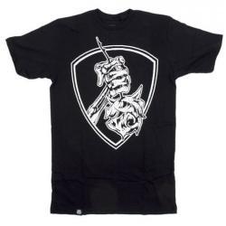 T-Shirts Subrosa Easy Rider M Black