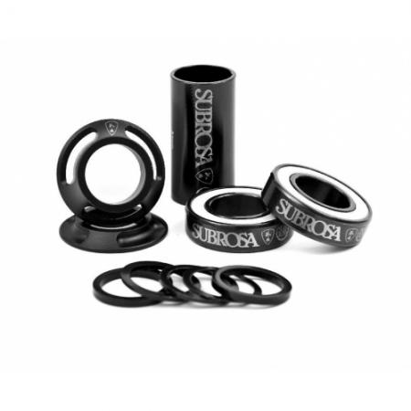 Subrosa Genetic Dcrwith out flangeless Black with-Red grips
