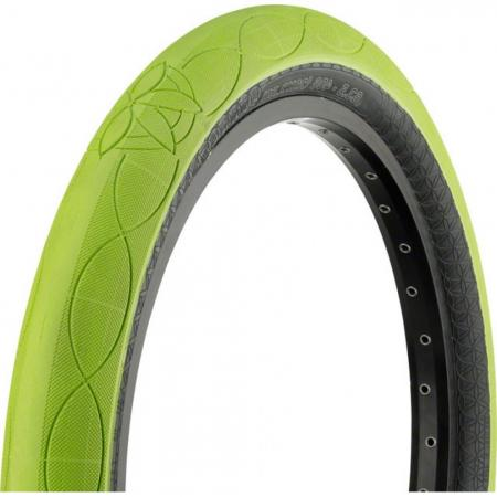 CULT AK 2.5 lime with black wall tire