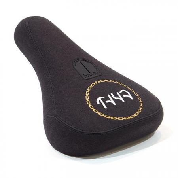 Cult Chain Logo Pivotal Black BMX Seat