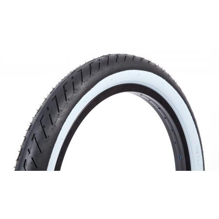FIT T/A 2.4 black with white wall tire