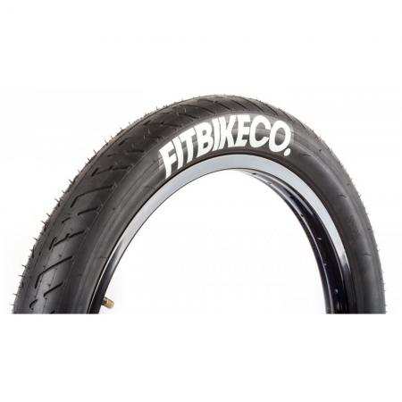 FIT T/A 2.3 black with white LOGO tire