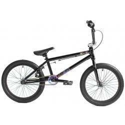 Велосипед BMX Academy Inspire 18 2020 черный с радугой