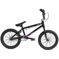 Велосипед BMX Academy Inspire 16 2020 черный с радугой