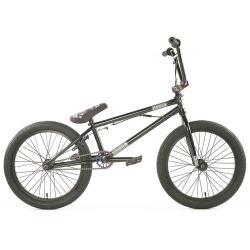 Велосипед BMX Colony Emerge 2020 20.4 черный с радугой
