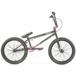 Велосипед BMX Colony Premise 2020 20.75 черный с фиолетовым