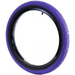 Покрышка BMX Colony Grip Lock 2.35 фиолетовая с черным кордом