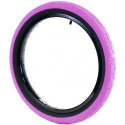 Покрышка BMX Colony Grip Lock 2.35 розовая с черным кордом