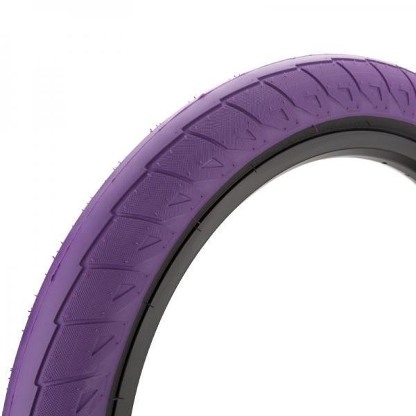 Покрышка BMX Cinema Williams 2.5 фиолетовая с черным кордом
