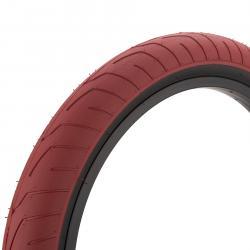 Покрышка BMX KINK Sever 2.4 красная с черным кордом