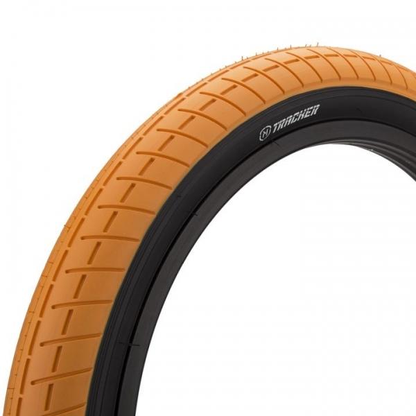 Покрышка BMX Mission Tracker 2.4 оранжевая с черным кордом