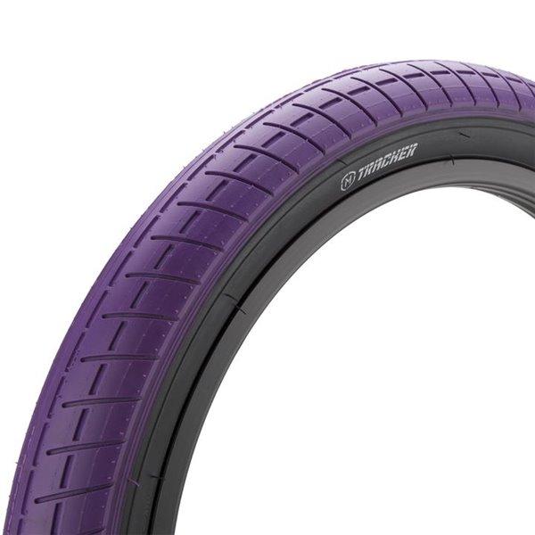 Покрышка BMX Mission Tracker 2.4 фиолетовая с черным кордом