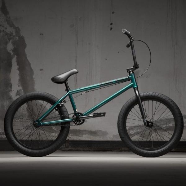 Велосипед BMX KINK Gap XL 2021 21 прозрачно-зеленый