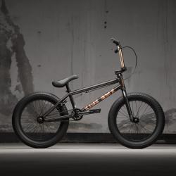 Велосипед BMX KINK Kicker 18 2021 черный