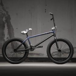 Велосипед BMX KINK Switch 2021 20.75 черно-фиолетовый