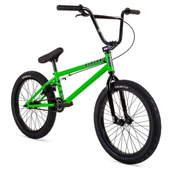 Велосипед BMX Stolen 2021 CASINO 20.25 зеленый