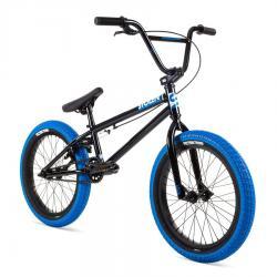 Велосипед BMX Stolen 2021 AGENT 18 черный с синим