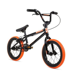 Велосипед BMX Stolen 2021 AGENT 14 черный с оранжевым