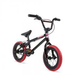 Велосипед BMX Stolen 2021 AGENT 12 черный с красным