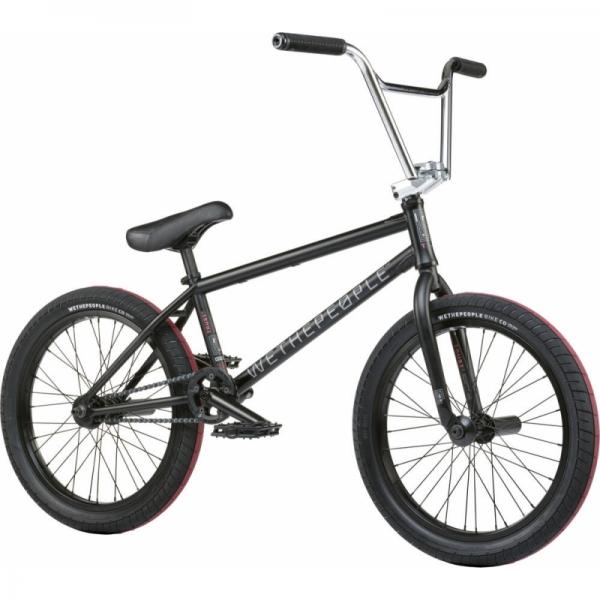 Велосипед BMX Wethepeople Trust FC 2021 20.75 черный матовый