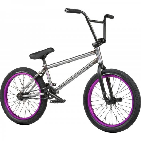 Велосипед BMX Wethepeople Trust FC 2021 20.75 некрашеный матовый
