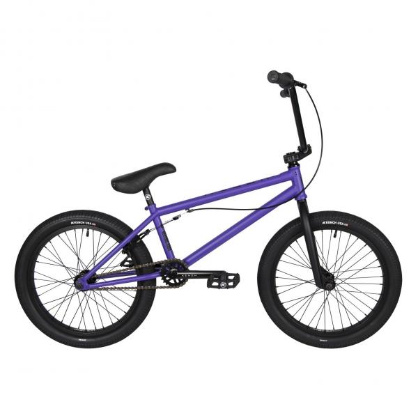 Kench Street CRO-MO 2021 21 purple BMX bike