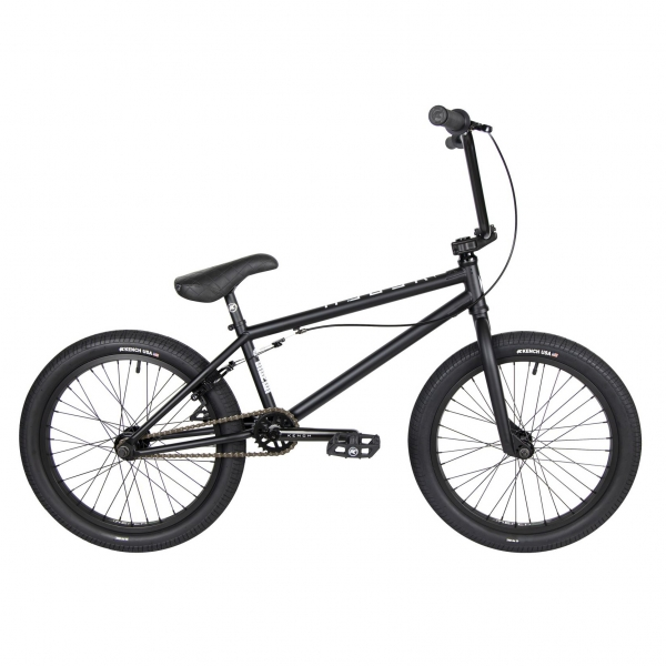 Kench Street CRO-MO 2021 20.75 black BMX bike