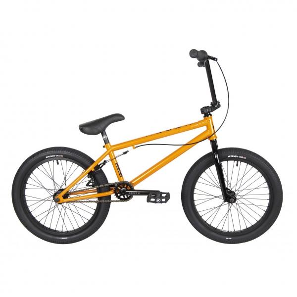 Kench Street Hi-ten 2021 21 orange BMX bike