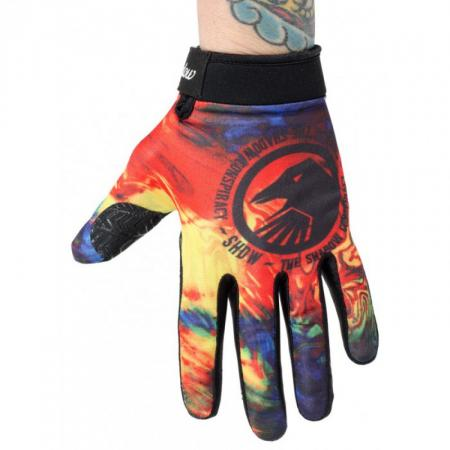 Gloves Shadow Conspire Tie Dye M