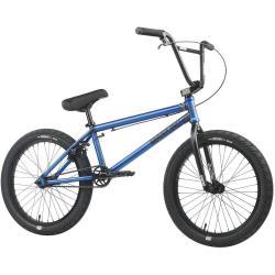Велосипед BMX Mankind Sureshot 2021 20.5 матовый прозрачный синий