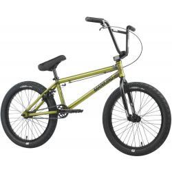 Велосипед BMX Mankind Sureshot 2021 20.5 матовый прозрачный зеленый