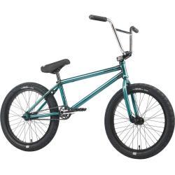 Велосипед BMX Mankind Libertad 2021 20.5 глянцевый прозрачный бирюзовый