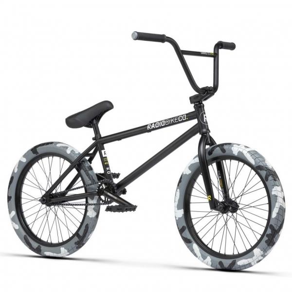 Велосипед BMX Radio DARKO 2021 20.5 черный камуфляж