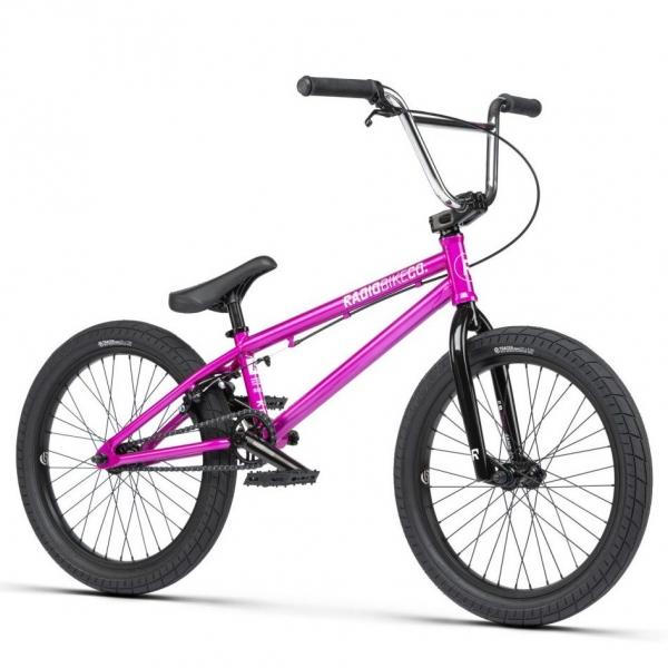 Велосипед BMX Radio SAIKO 2021 19.25 фиолетовый