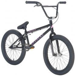 Велосипед BMX Academy Trooper 2021 19.5 черный с полированным