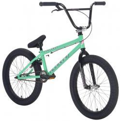 Велосипед BMX Academy Trooper 2021 19.5 ментоловый с серебром