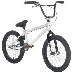 Велосипед BMX Academy Inspire 18 2021 серебро с черным