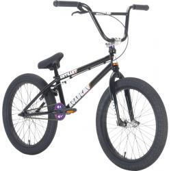 Велосипед BMX Academy Entrant 2021 19.5 черный с радугой