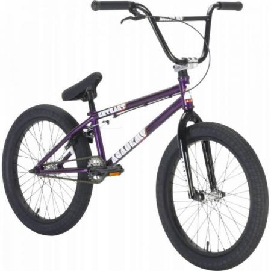Велосипед BMX Academy Entrant 2021 19.5 фиолетовый с полированным