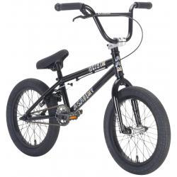 Велосипед BMX Academy Origin 16 2021 черный с полированным