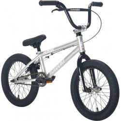 Велосипед BMX Academy Inspire 16 2021 серебро с черным